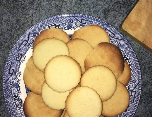 An attempt was made: lemon drizzle cookies