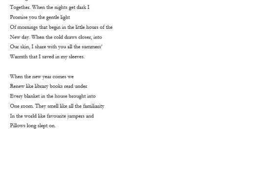 devotion – poem