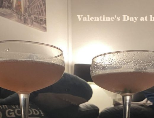 How we spent our Valentine's Day at home