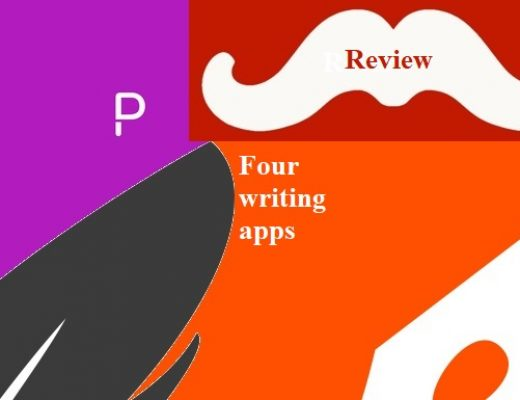 Review: four writing apps