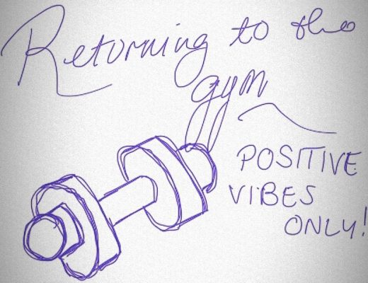 Returning to the gym – good intentions and affirmations!