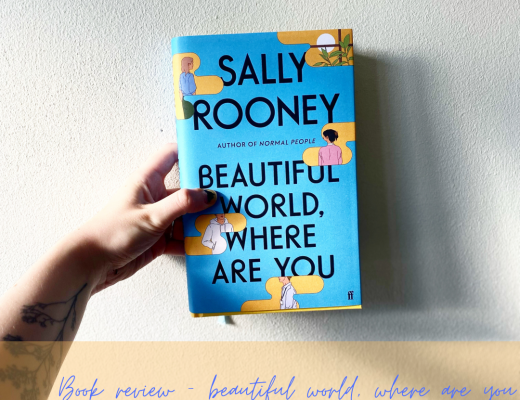 Book review: Beautiful World, Where Are You?